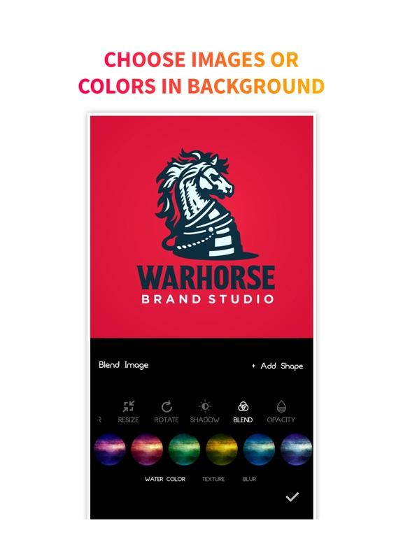 Ipad Screen Shot Logo Maker + Logo Creator 1
