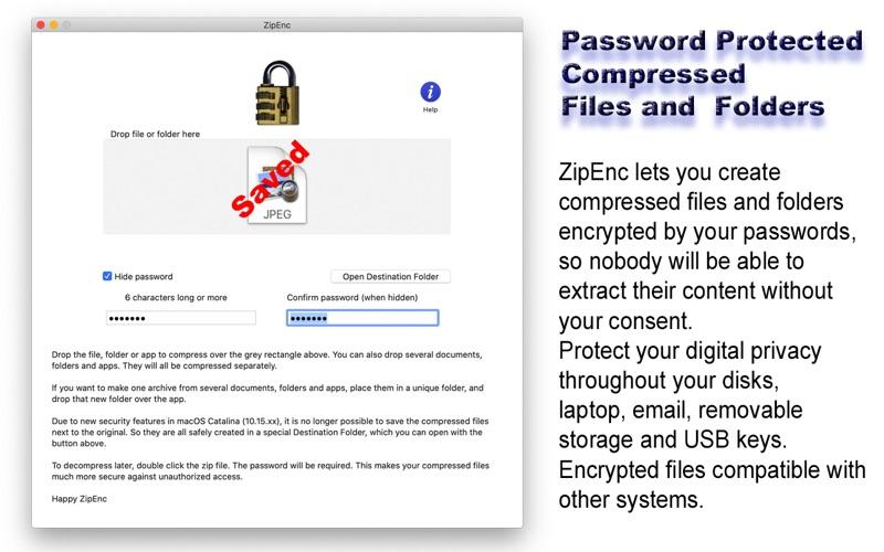 ZipEnc for Mac