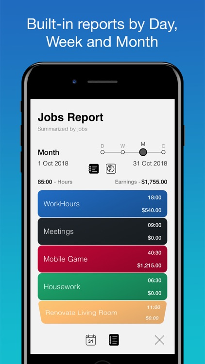 WorkHours: Time Tracker screenshot-4