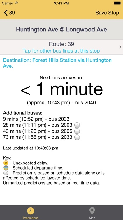 Catch The Bus: Bus Tracker