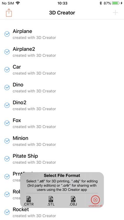 3D Creator screenshot-4