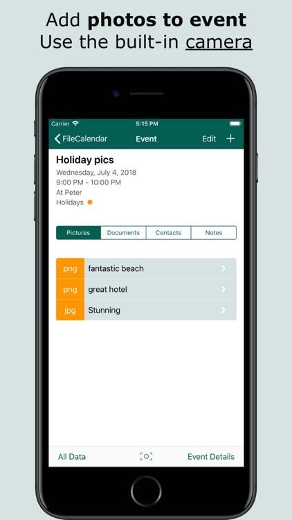 FileCalendar Lite screenshot-3