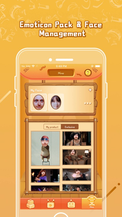 Face Meme - emoji gif maker screenshot-4