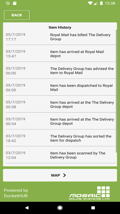 The Delivery Group screenshot three