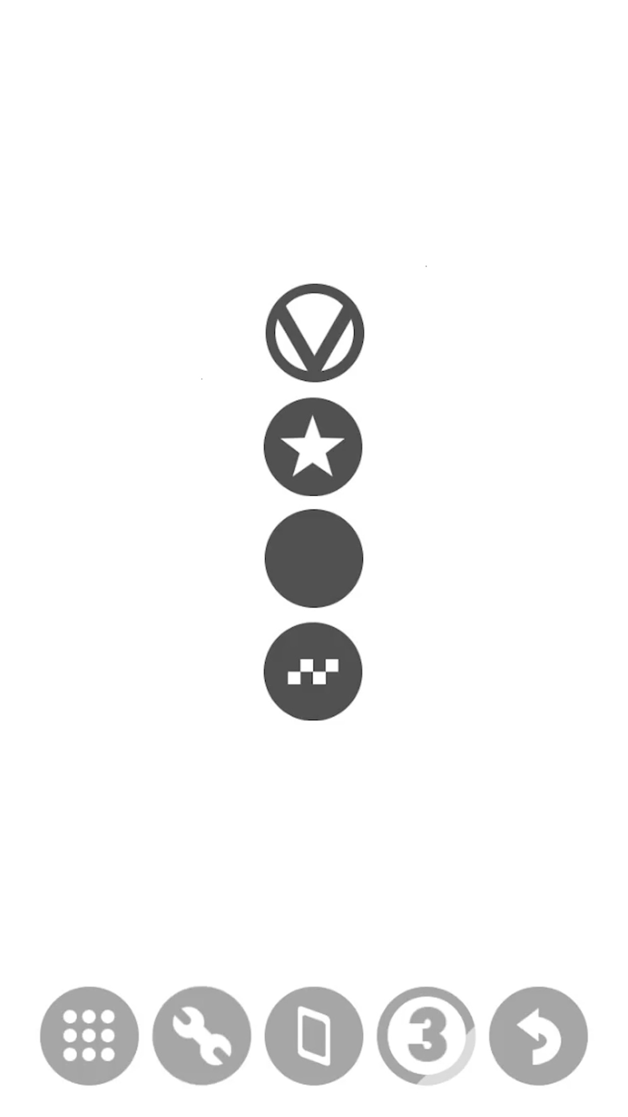 Screenshot do app DOX: A Puzzle Game