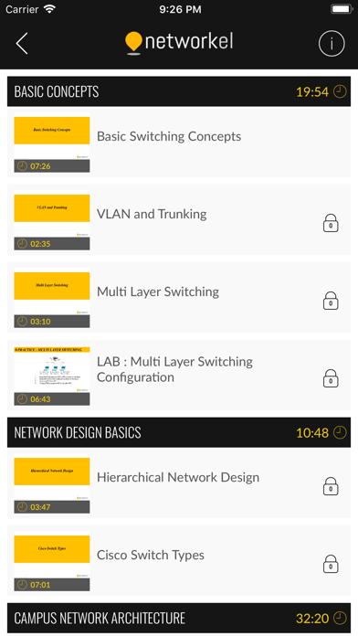 Networkel screenshot three