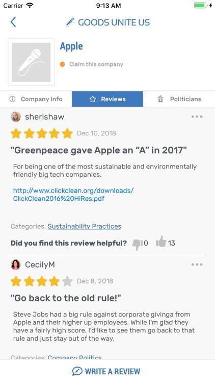 Goods Unite Us - Vote 365 screenshot-5