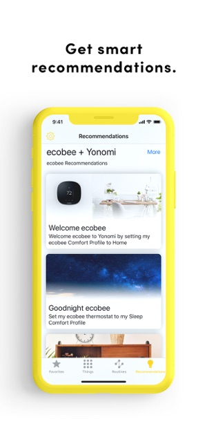 Yonomi on the App Store