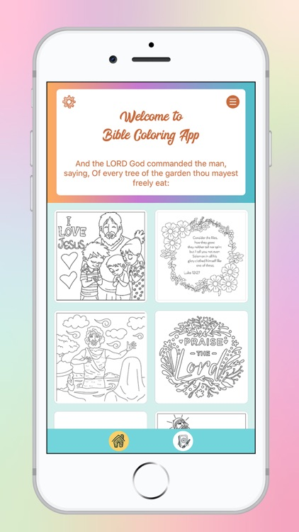 Bible Color By Number screenshot-3