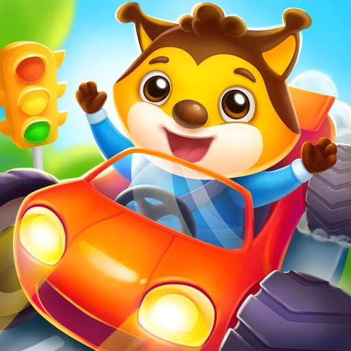 Car game for kids and toddler.