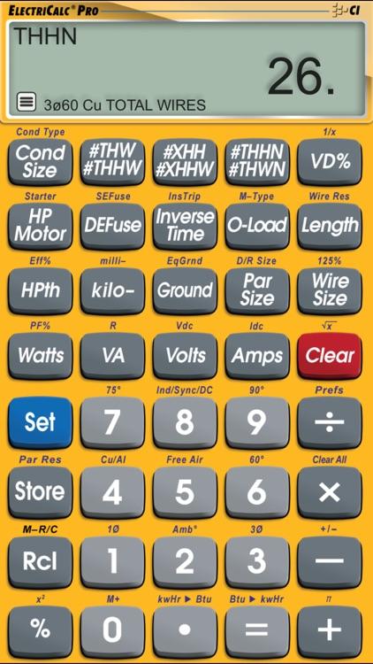ElectriCalc Pro screenshot-5