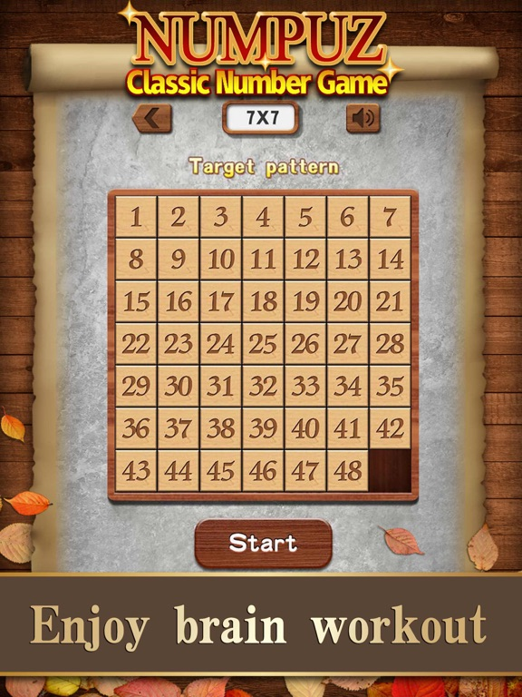 iPad Image of Numpuz:Classic Number Game