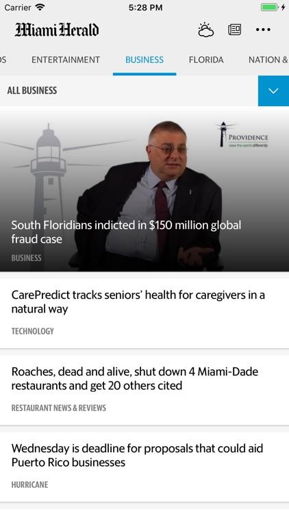 Miami Herald News screenshot-3