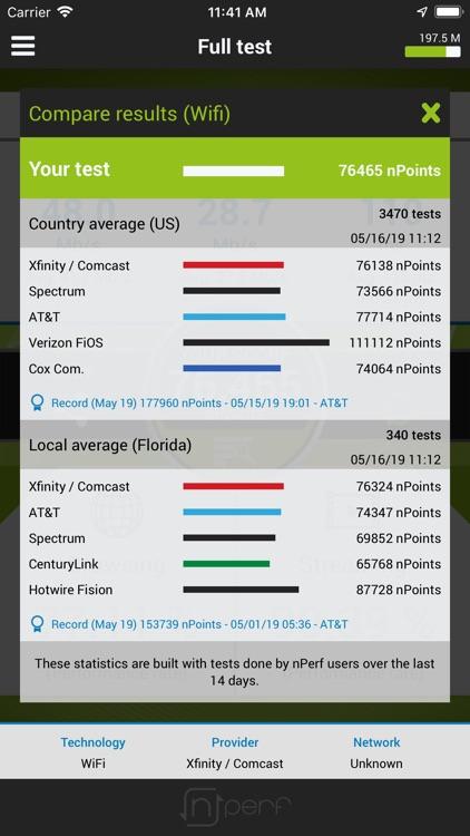 nPerf internet speed test screenshot-4