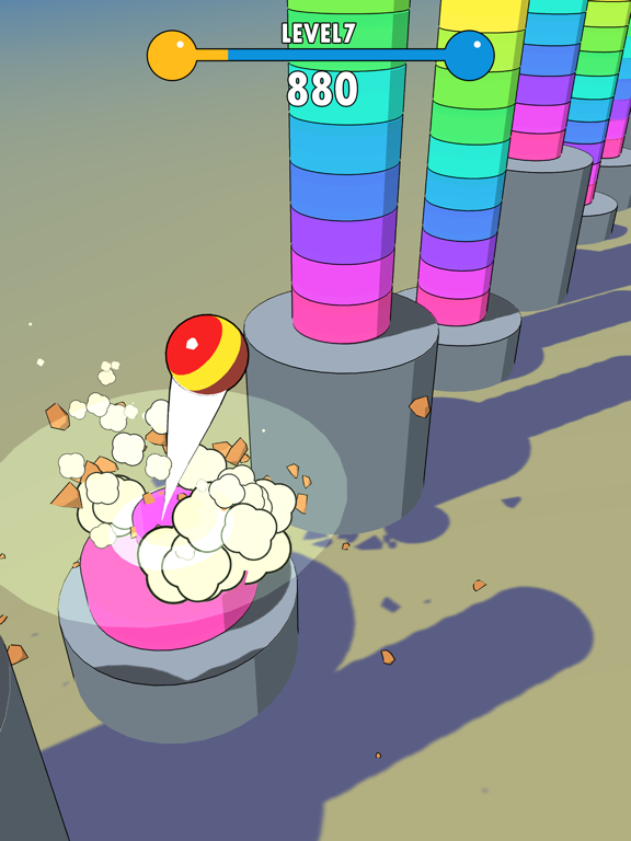 Ball Fly 3D screenshot 7