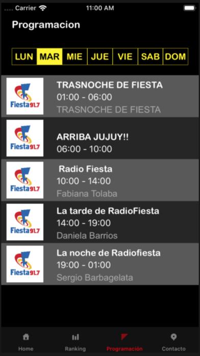 Radio Fiesta FM 91.7 Jujuy screenshot two