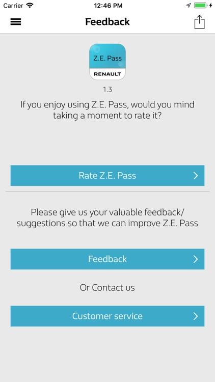 Z.E. Pass for Renault screenshot-9