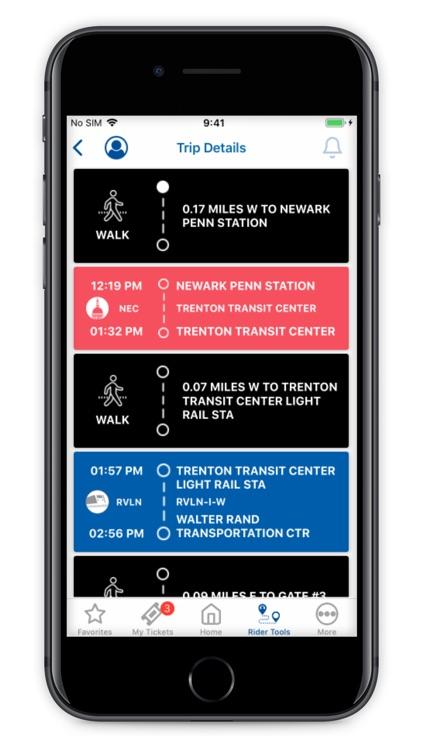 NJ TRANSIT Mobile App screenshot-5
