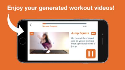 Touch Me - Custom Workouts screenshot 2