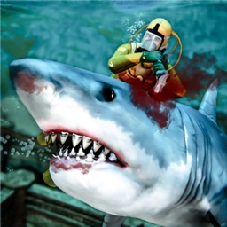 Deep Sea Predator-Man Vs Shark