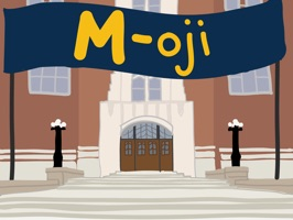The Official Michigan Sticker Pack - Add fun, student-created M-oji's to your texts