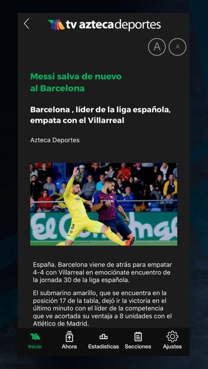 Azteca Deportes screenshot-8