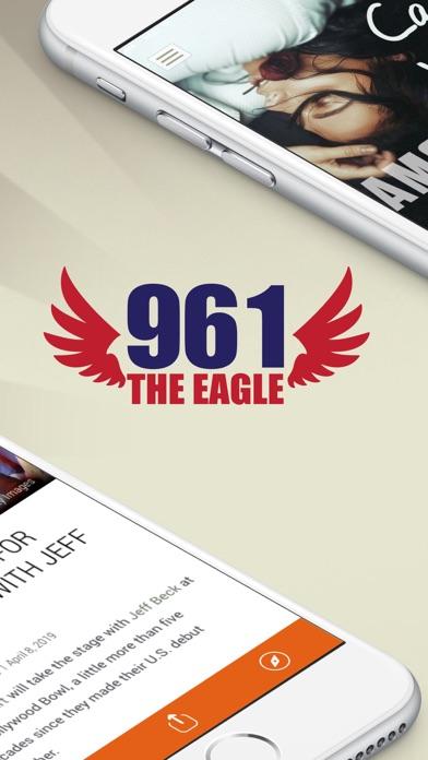 96.1 The Eagle (WODZ) screenshot two