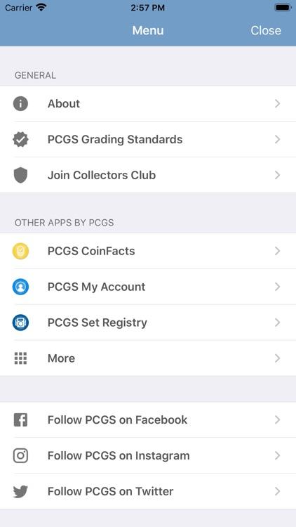 PCGS Cert Verification screenshot-4