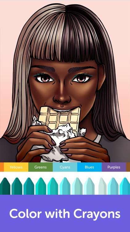 Recolor - Adult Coloring Book screenshot-4
