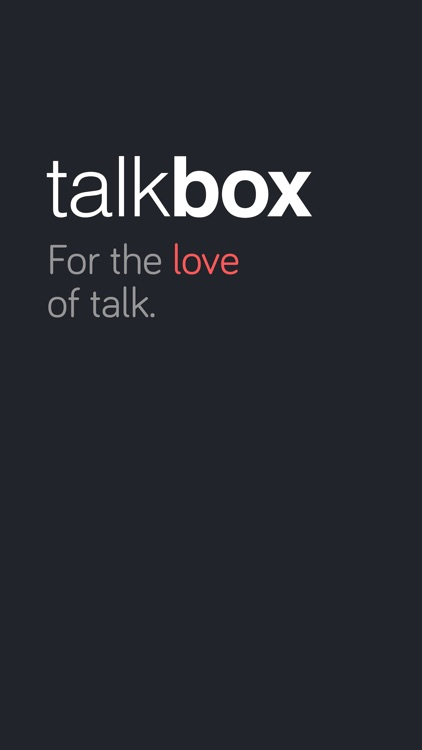 Talkbox Messenger