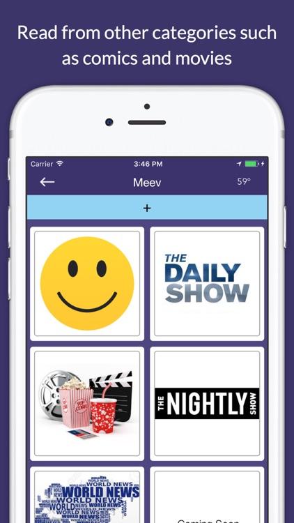 Meev - news that travels screenshot-4