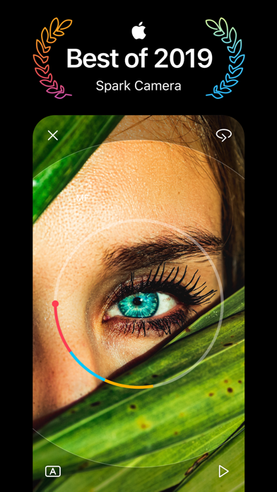 Screenshot for Spark Camera & Video Editor in India App Store