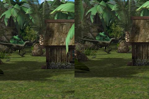 Jurassic Virtual Reality (VR) - náhled