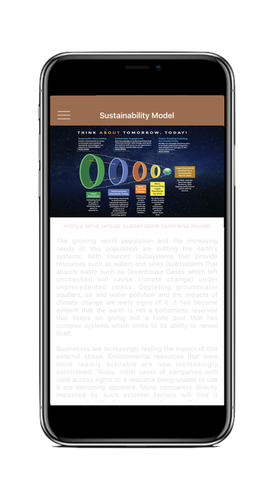 ABG Sustainable Conference App screenshot three