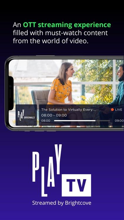 PLAY TV Streamed by Brightcove screenshot-3