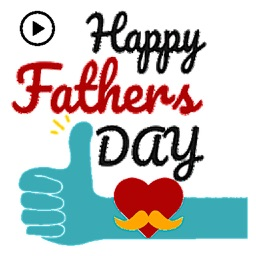 Animated Father's Day Stickers