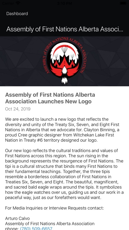 Assembly of First Nations - AB screenshot-5