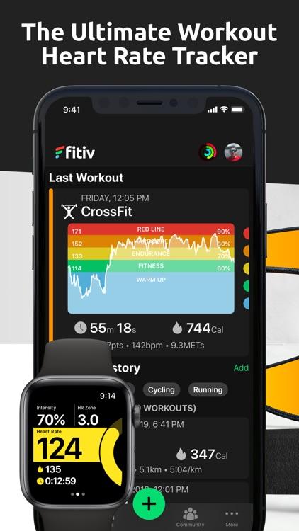 FITIV Pulse Heart Rate Tracker screenshot-0
