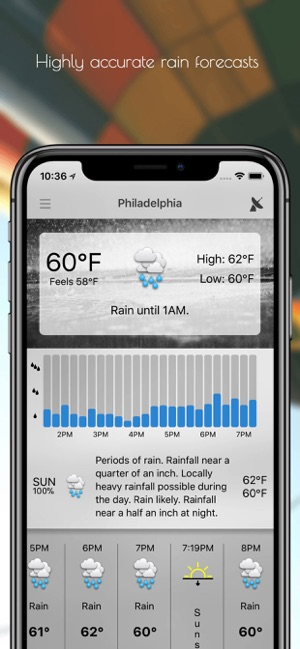 ‎Forecast Bar - Weather + Radar Screenshot