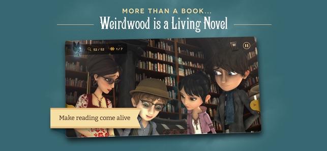 Weirdwood Manor en App Store