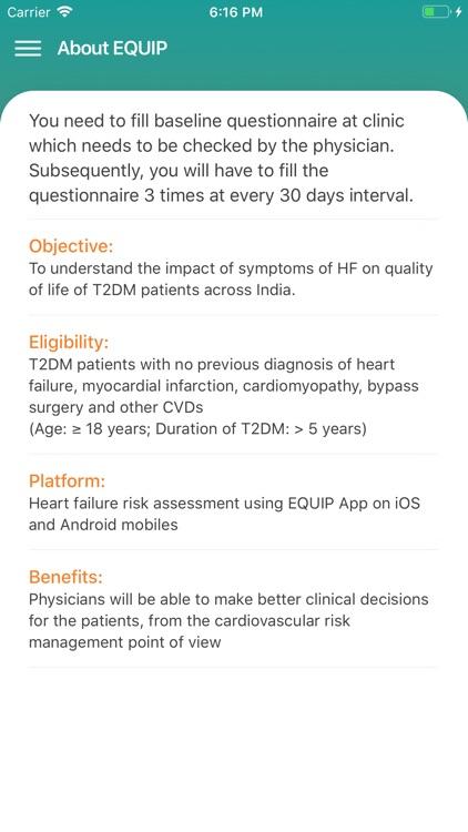 EQUIP - Patient App screenshot-5