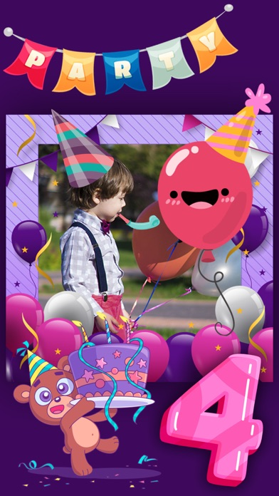 Birthday Frames Stickers App Price Drops