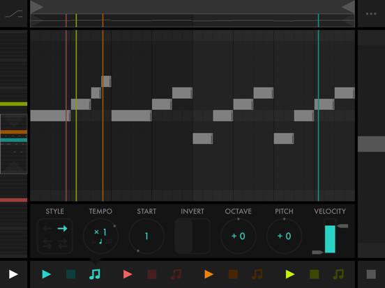 Screenshot #6 pour Fugue Machine : MIDI Sequencer