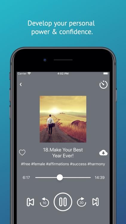 Affirmations Audio App screenshot-4