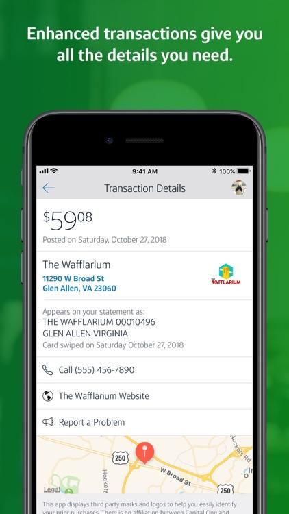 Capital One Mobile screenshot-8