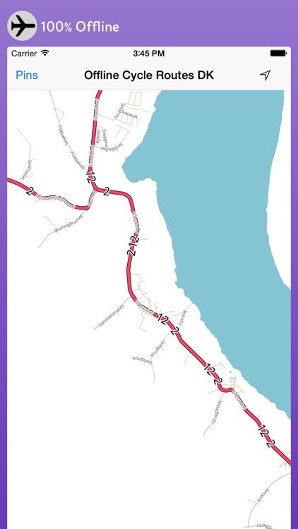 Offline Cycle Routes Denmark screenshot-3