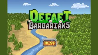 Defeat barbarians