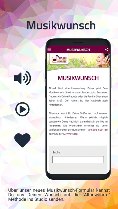 messages.download Radio Schlagerparadies Musik software