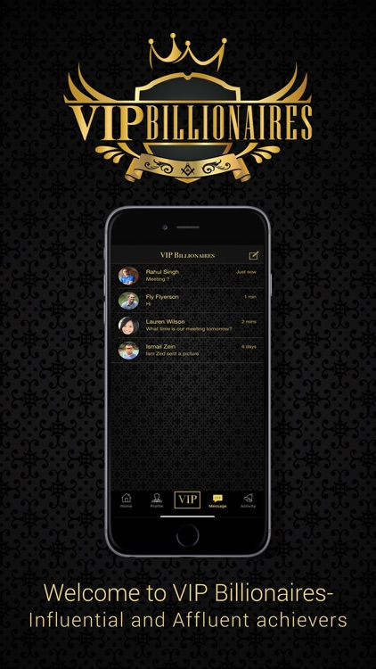 VIP Billionaires - Social Chat screenshot-5