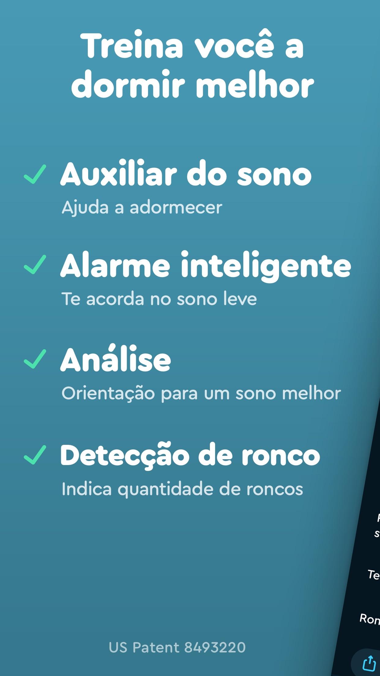 Screenshot do app Sleep Cycle: smart alarm clock